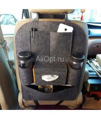 Органайзер для сиденья в авто vehicle mounted storage bag оптом