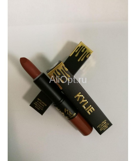 Набор для губ Kylie matte lipstick and lipgloss 2 in 1 оптом
