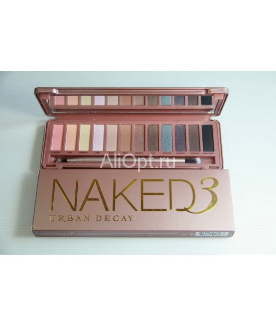 Палетка теней Naked 3 urban decay оптом