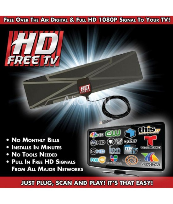 Цифровая HD антенна HD Free TV Digital Antenna оптом