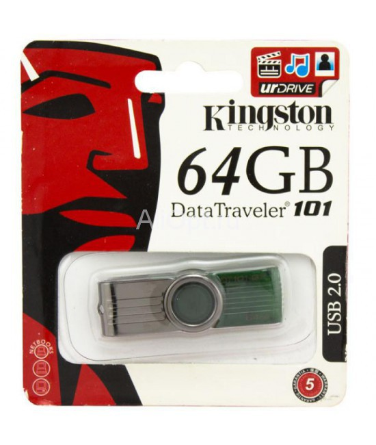 USB Флешка 64Gb Kingston DataTraveler 101G2 оптом