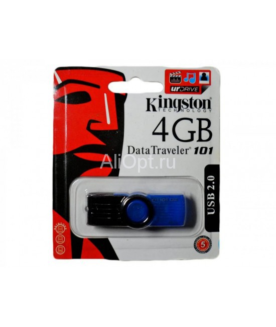USB Флешка 4Gb Kingston DataTraveler 101G2 оптом