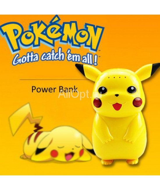 Power bank Pokemon GO Pikachu 10000 mAh оптом